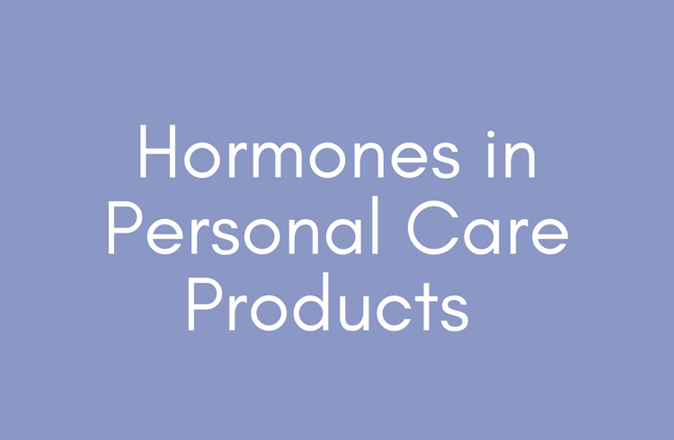 Hormones in Personal Care Products