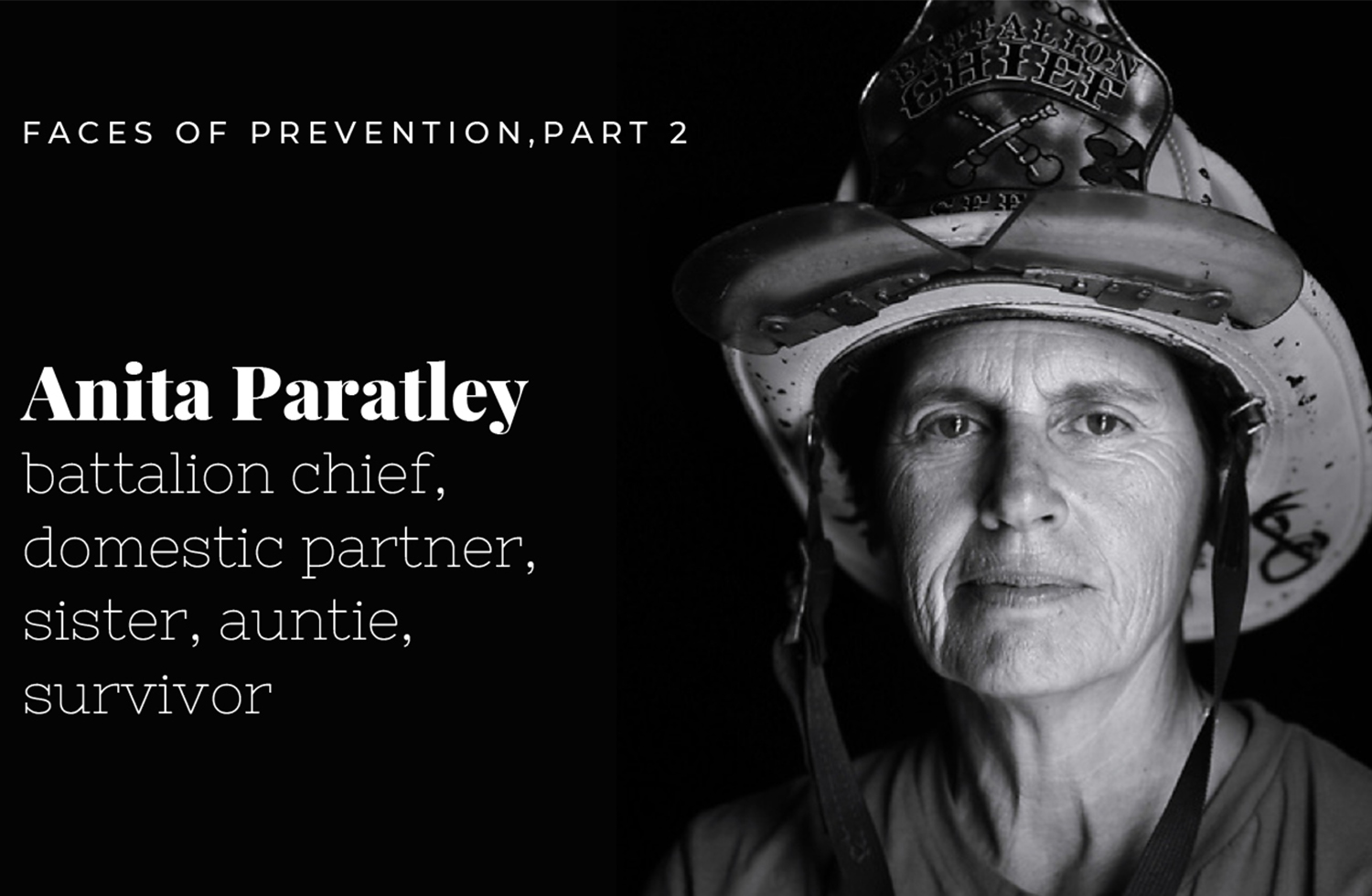 SF Fire Department Battalion Chief Anita Paratley's Breast Cancer Story