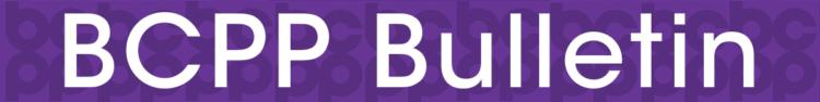 BCPP Bulletin