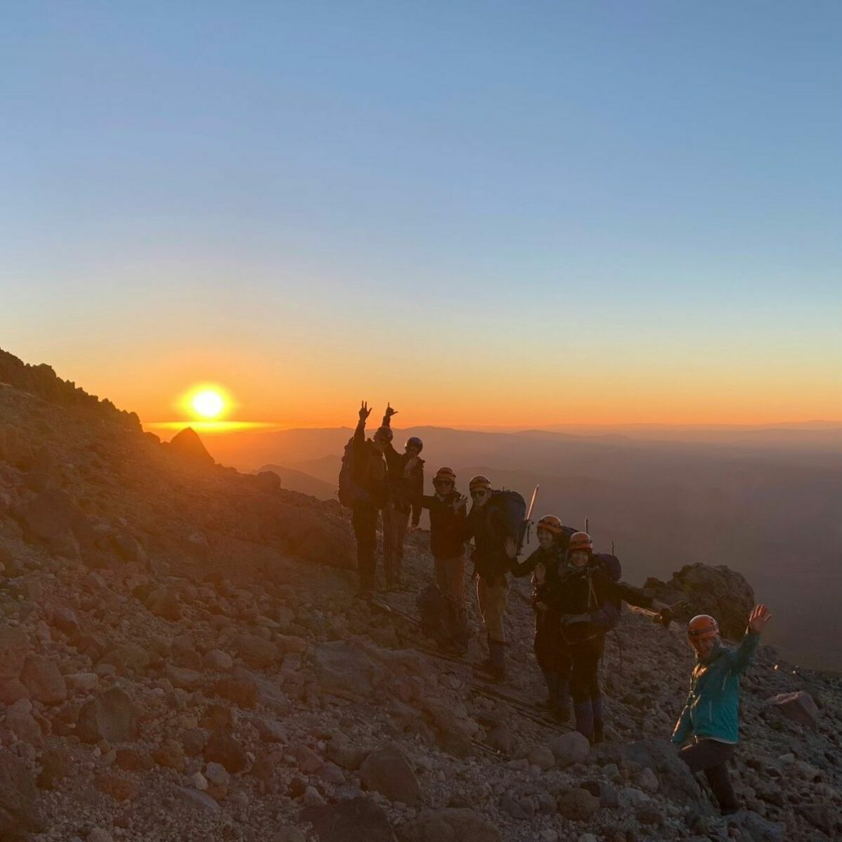 Morning ascent Climb Against the Odds for breast cancer prevention BCPP 2021