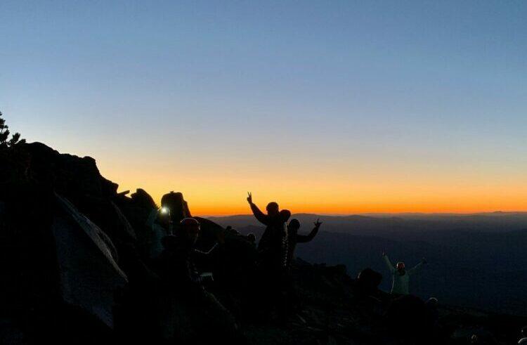 Sunrise on Mt Shasta Climb Against the Odds BCPP